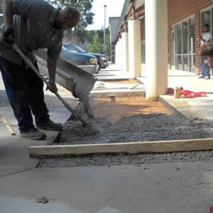 Concrete Pouring & Repair